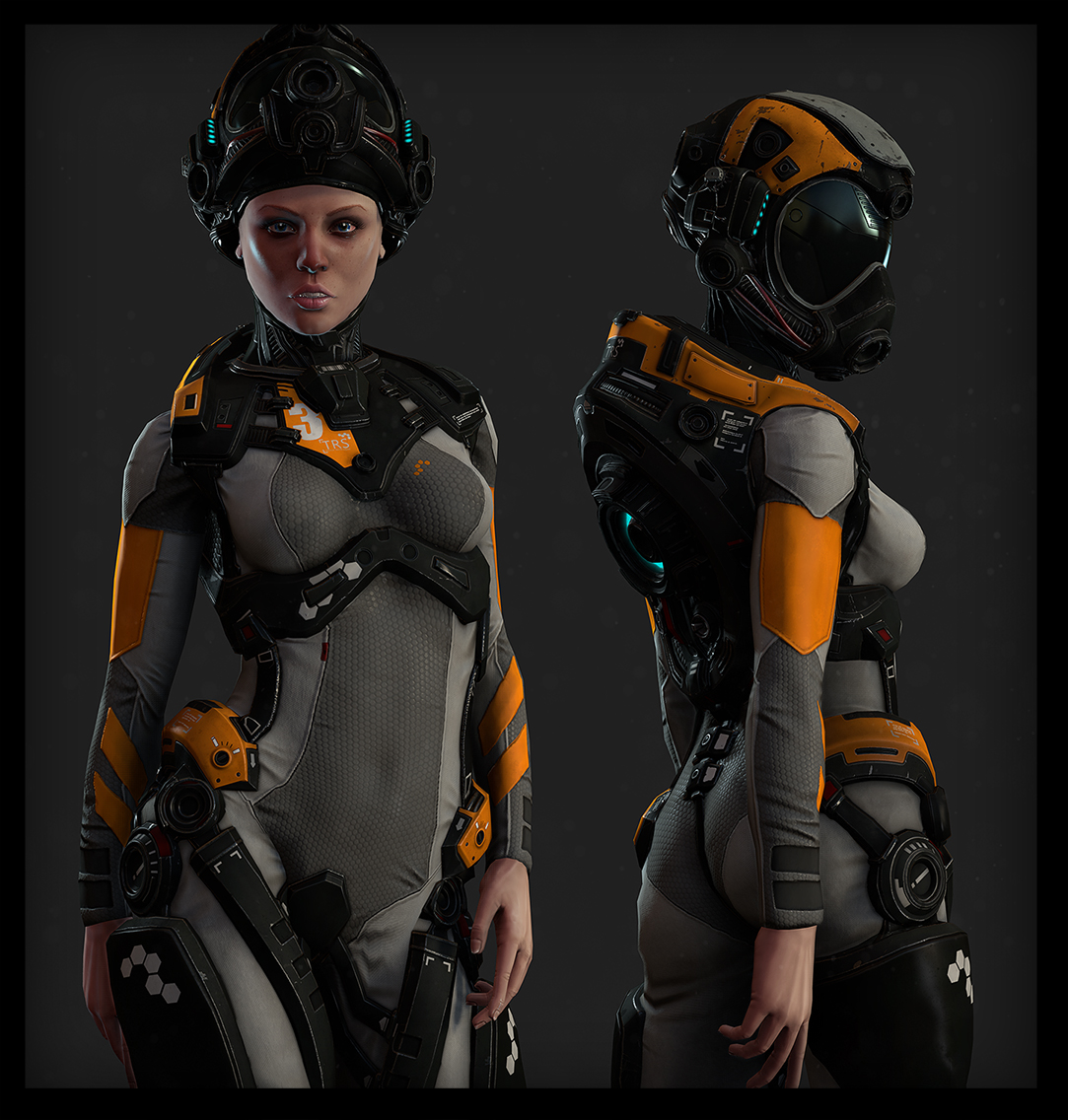 can we get female suits that look like this please close